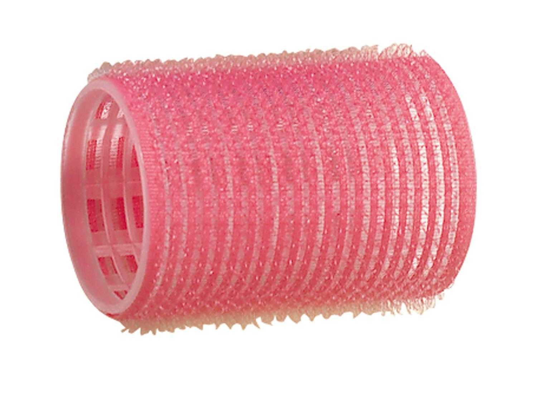 Comair Haftwickler 12er Set 44mm rosa groß Länge 63mm Haftwickler